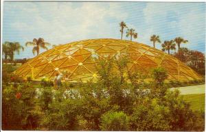 Geodesic Dome Busch Gardens Postcard (Image1)