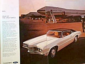 1970 Ford Thunderbird Year of the Great Birds Tbird046 (Image1)