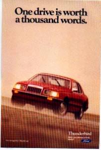 1985 Thunderbird  Ad tbird04 (Image1)