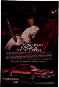 1974 Thunderbird Ad Burgundy tbird06 (Image1)