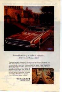 1967 Thunderbird 4-Door Landau Ad tbird09 (Image1)