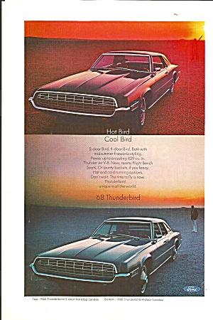 1968 Thunderbird 2 Door and 4 Door Ad tbird181968 Thunderbird 2 Door and 4 Door  (Image1)