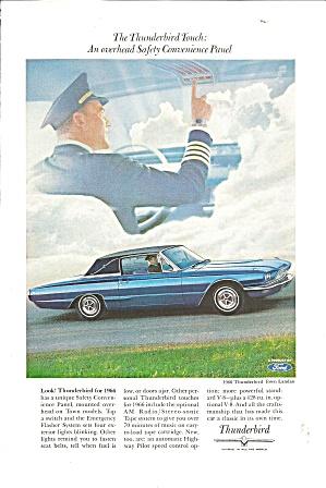 1966 Thunderbird Town Landau  Ad tbird30 (Image1)