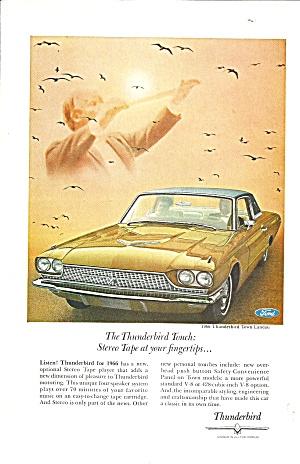 1966 Thunderbird Town Landau Ad tbird36 (Image1)