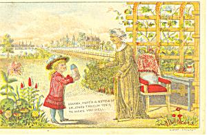 Patent Medicine Trade Card tc0051 (Image1)
