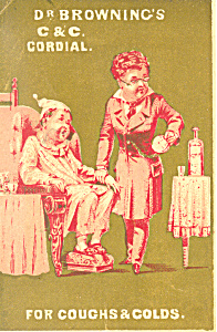 Patent Medicine Trade Card tc0052 (Image1)
