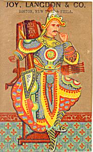 Joy Langdon and Co Trade Card tc0070 (Image1)