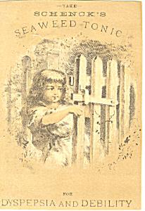 Patent Medicine Victorian Trade Card tc0074 (Image1)