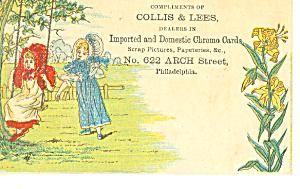 Scrapbooking Victorian Trade Card tc0082 (Image1)