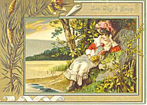 Day s Soap Philadelphia PA Victorian Trade Card tc0094 (Image1)