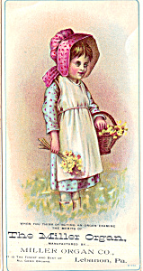 The Miller Company Trade Card tc0107 (Image1)