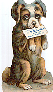 W R Rollman Jeweler Trade Card (Image1)