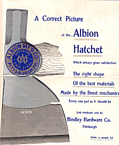 Albion Hatchet  Flyer (Image1)