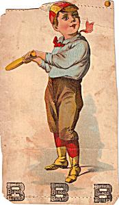 Burdock Blood Bitters Trade Card tc0220 (Image1)
