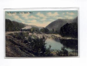 Steam Train Berkshire Hills MA   Postcard u0027 (Image1)