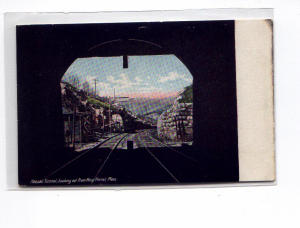 Hoosac Tunnel Looking West  Postcard u0033 (Image1)