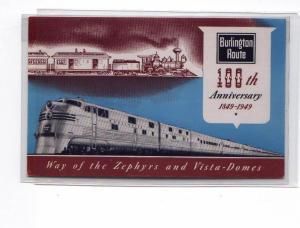 Burlington 100th Anniversary  Postcard u0042 (Image1)
