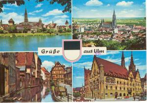 Ulm Donau Germany Postcard u0073 (Image1)