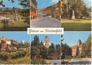 Furstenfeld Austria Multi view Postcard (Image1)