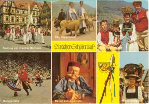 Uracher Germany Multi View Postcard u0086 (Image1)
