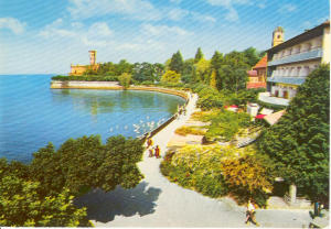 Castle Montfort Germany  Postcard (Image1)