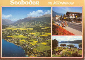 Seeboden Austria Multi View Postcard (Image1)