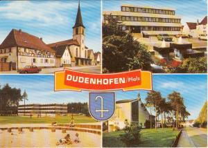 Dudenhofen Pfalz Germany Postcard u0113 (Image1)