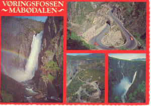 Mountain Scenes Norway  Postcard (Image1)