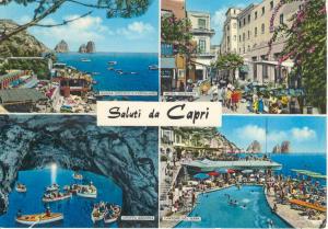 Greetings from Capri Multi View Postcard (Image1)