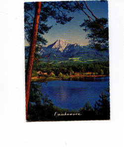 Faakersee Austria Postcard v0002 (Image1)