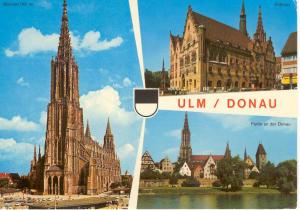 Ulm Donau Germany Postcard v0047 (Image1)