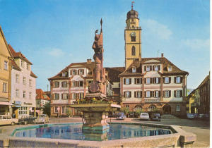Bad Mergentheim Germany Postcard v0079 (Image1)