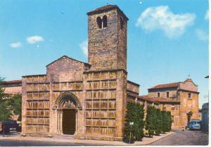 Ascoli Church Scene Italy Postcard v0122 (Image1)