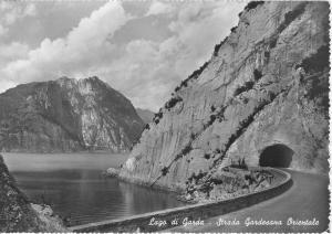Garda Lake Gardesana Road Italy Postcard v0126 (Image1)