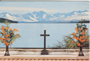 Lake Tekapo New Zealand Postcard v0145 (Image1)