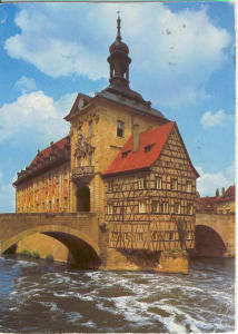 Old City Hall Bamberg Austria  Postcard (Image1)