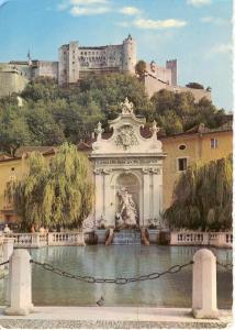Salzburg Austria Postcard (Image1)