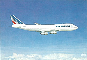 Air France 747 F-bvfp In Flight Cs10310