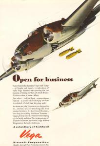 Vega Aircraft Ventura Bomber Ad w0007 (Image1)
