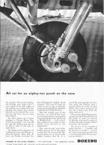 Boeing WWII B 17 Landing Gear Ad w0022 (Image1)