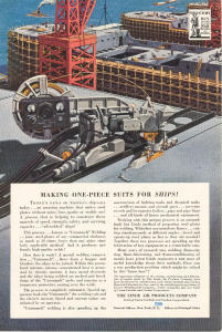 LInde Air WWII Ship Welding Ad w0024 (Image1)