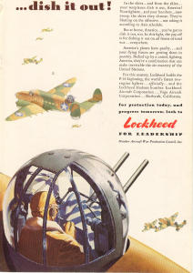 Lockheed WWII Aircraft Ad (Image1)