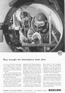Boeing Stratosphere Research Ad 1942 (Image1)