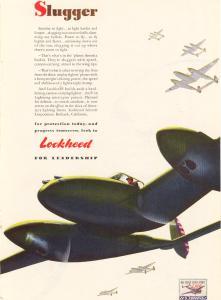 Lockheed P-38 Lightning Ad 1942 (Image1)