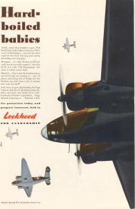 Lockheed Hudson and Vega Bomber Ad (Image1)