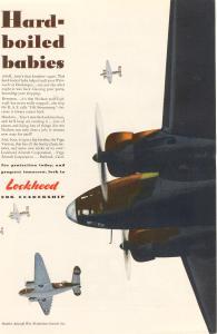 Lockheed Hudson and Vega Bomber Ad w0044 (Image1)
