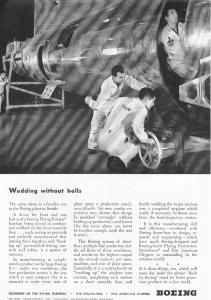 Boeing WWII B-17 Production Ad (Image1)