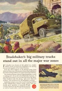Studebaker WWII  Military Truck Ad w0120 (Image1)