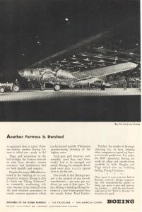 Boeing WWII B-17 Roll Out Ad (Image1)