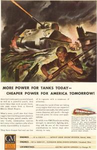 GM Diesel Engines in Tanks Ad w0131 (Image1)